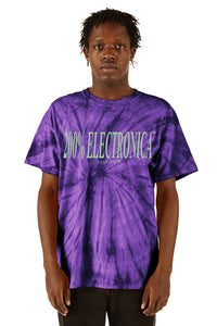 200% Electronica on Grape® Vinyl  + Purple Tie-Dye T-Shirt Bundle by ESPRIT空想 - 100% Electronica