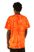 Load image into Gallery viewer, ESPRIT空想 200% Electronica Orange Tie Dye Bird Tee - SS20 - 100% Electronica