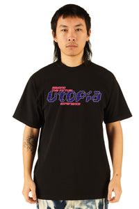 Beyond The Virtual Utopia Experience Tee - 100% Electronica