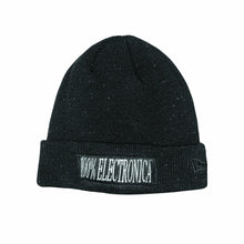 Load image into Gallery viewer, 100% Electronica x New Era® Black Speckled Beanie -FW19/20 - 100% Electronica
