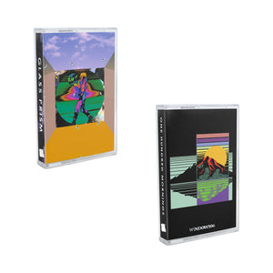 One Hundred Mornings [Deluxe Edition] + Glass Prism Cassette 2-pack by Windows 96 - 100% Electronica