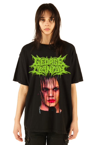George Clanton New Death Metal Tee - FW20/21 - 100% Electronica