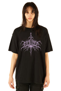 Equip Black Metal Tee - FW20/21 - 100% Electronica