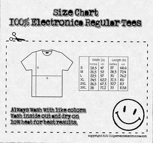 100% Electronica *Limited Edition* Release Party Tee (pre-order) - 100% Electronica