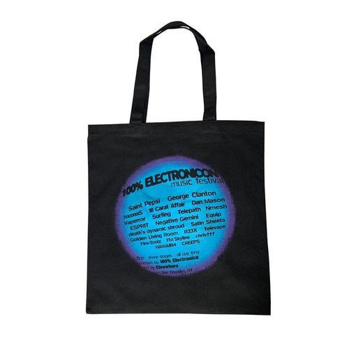 100% ElectroniCON Tote