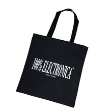 Load image into Gallery viewer, 100% Electronica Logo Tote - 100% Electronica