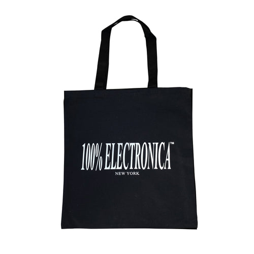 100% Electronica Logo Tote