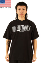 Load image into Gallery viewer, 100% Electronica Black Oversized™ Tee - SS20 - 100% Electronica