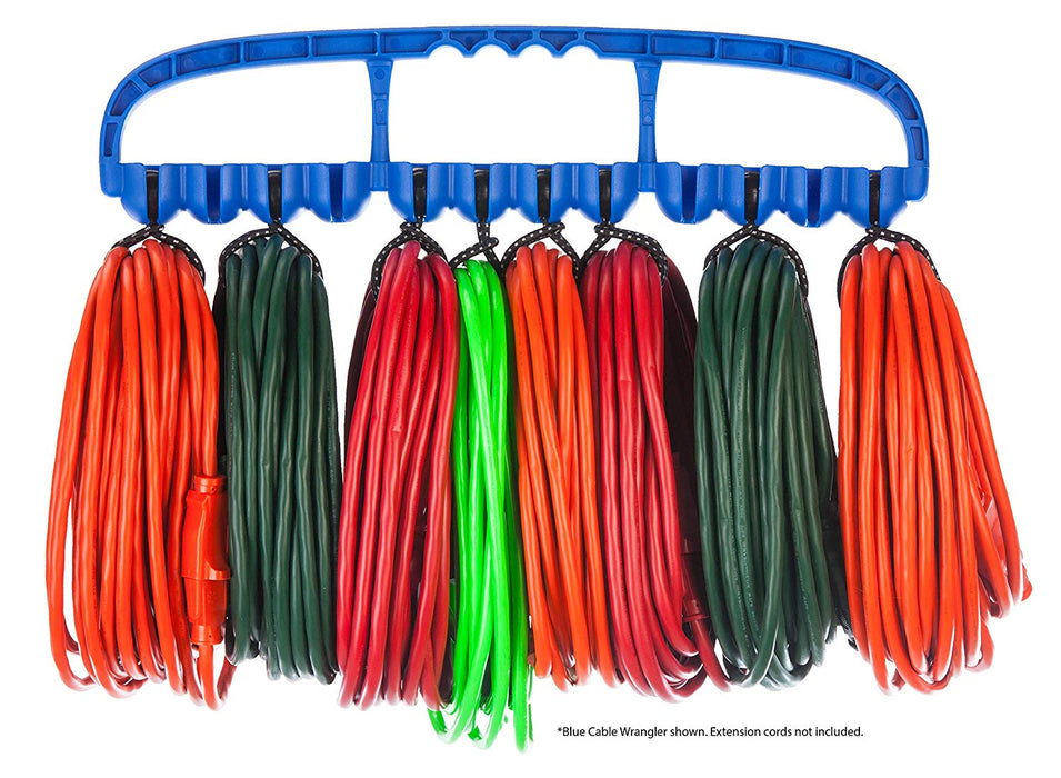 Cable Wrangler - 12 Heavy Duty Bungee Balls for Tools and Wire Management