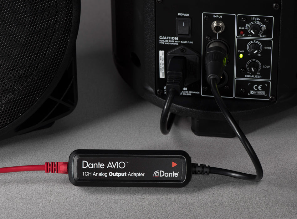 Audinate Dante AVIO Output Adapter