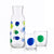 Set of glasses Benetton Addige Bottle Glass (2 pcs)