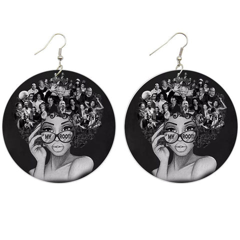 My roots | African inspired earrings