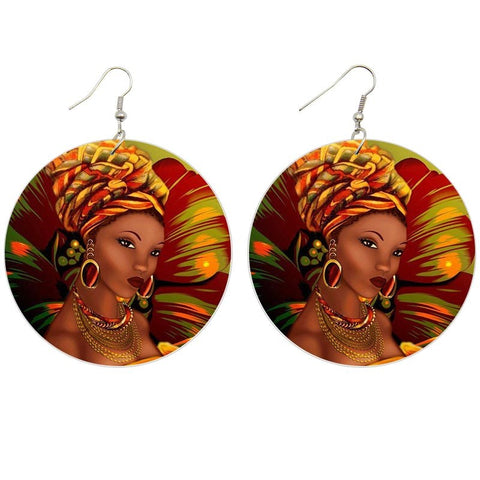 Lady with Style | African inspired earrings