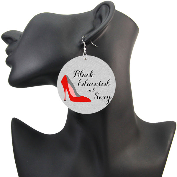 Black Educated and Sexy | African inspired earrings