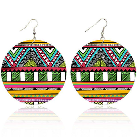 Mystic patterns | African inspired earrings