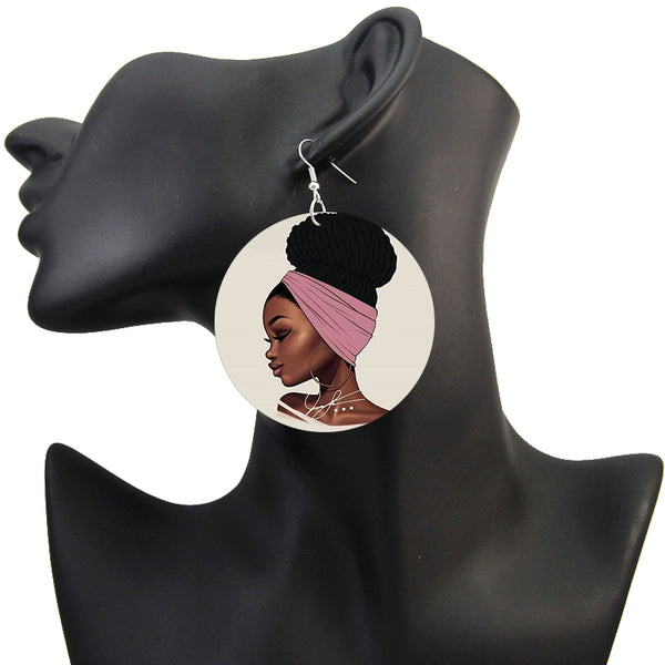 Pretty face | African inspired earrings