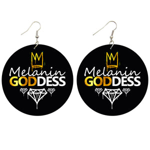 Melanin goddess | African inspired earrings