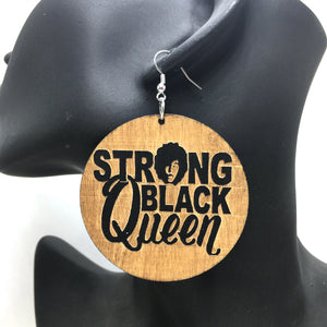 Africa inspired earrings | Strong Black Queen
