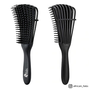 Afabs® Detangler brush | Detangling brush | Comb for curls | Afro hair brush | Black