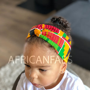 African print Headband - Kids - Hair Accessories - Kente