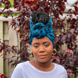 African headwrap - Purple joints