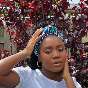 African headwrap - Pink gift box