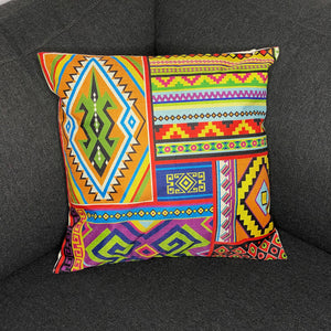 African pillow cover | Multicolor tribal - Decorative pillow 45x45cm