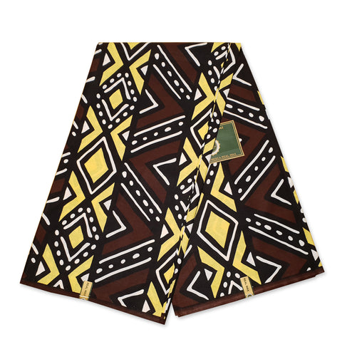 African BLUE SAMAKAKA ANGOLA Wax print fabric / cloth (Traditional Samacaca)