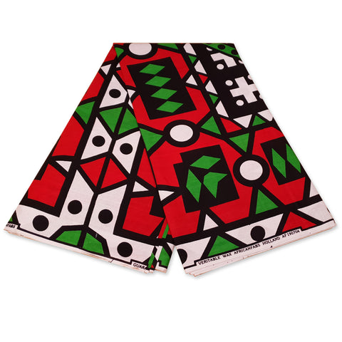 African red / green samakaka / samacaca headwrap