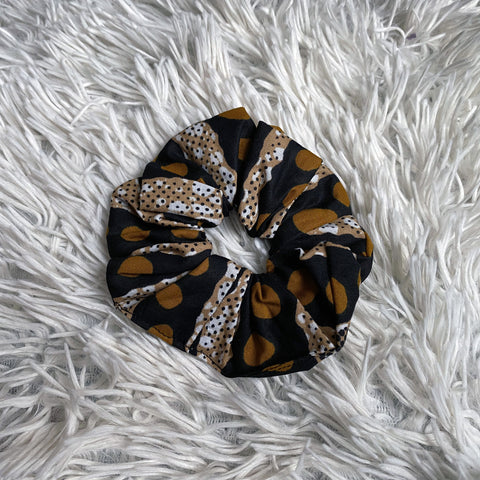 African print Scrunchie - Adults & Children Hair Accessories - Mud cloth