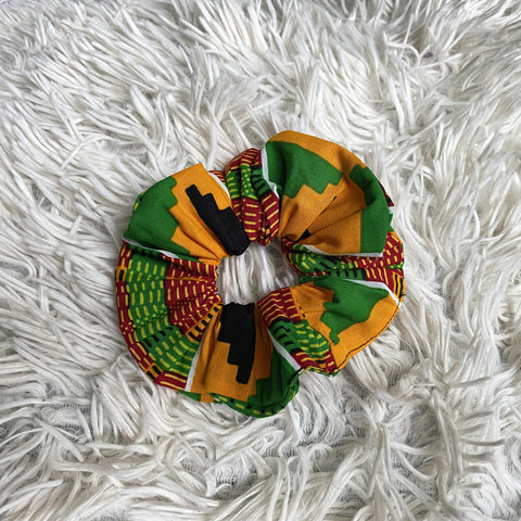 African print Scrunchie - Adults & Children Hair Accessories - Kente