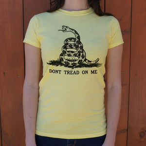 Don't Tread On Me T-Shirt (Ladies) - catchup-apperal