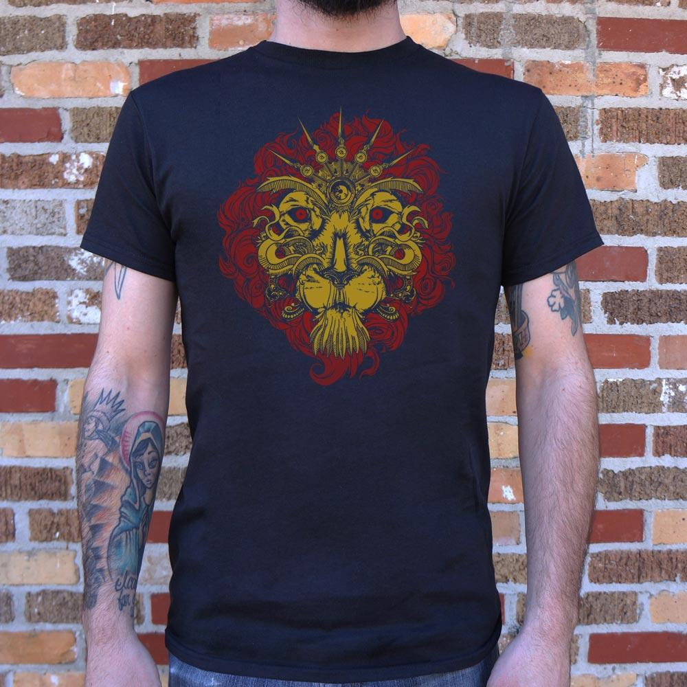 Leo The Lion T-Shirt (Mens) - Catchup Apparel