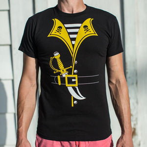 Pirate Outfit T-Shirt (Mens) - catchup-apperal