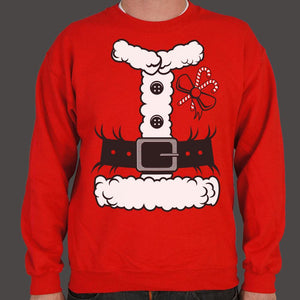 Santa Costume Sweater (Mens) - catchup-apperal