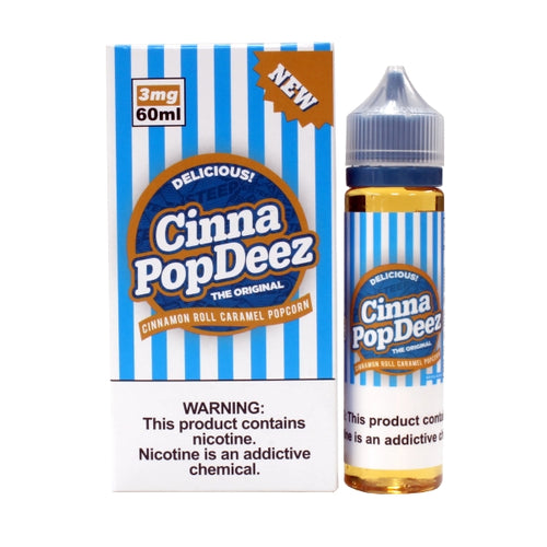 Steep Vapors Cinna PopDeez E-liquid 60ML (Cinnamon Roll Caramel Popcorn)