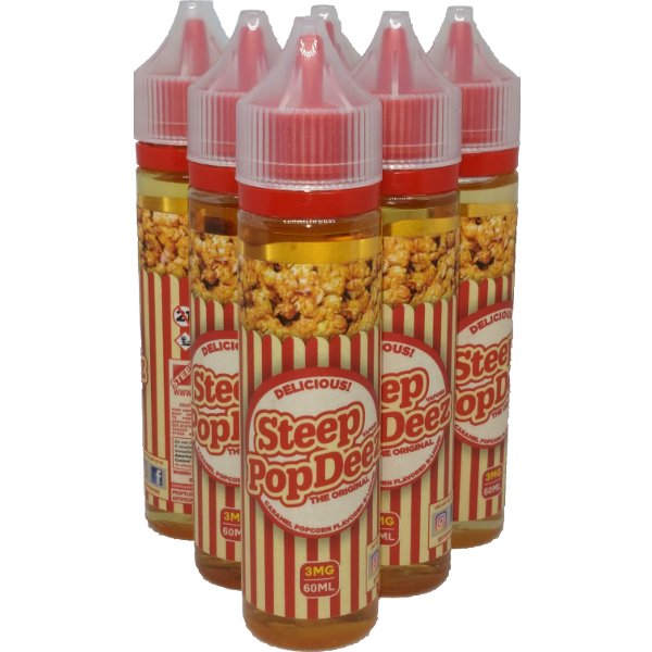 Steep Vapors PopDeez E-Liquid 60ML (Popcorn)