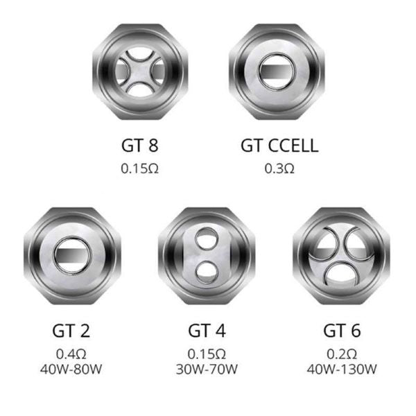Vaporesso GT Core Replacement Coil 3 Pack