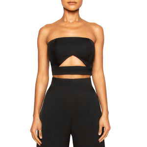 MOBO | Strapless Crop Top
