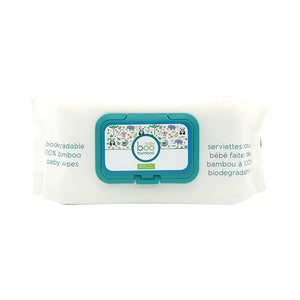 Boo Bamboo Biodegradable Wipes