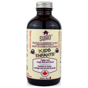 SURO Organic Elderberry Syrup for Kids