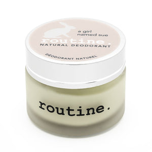 "Routine ""A Girl Named Sue"" - Natural Deodorant"