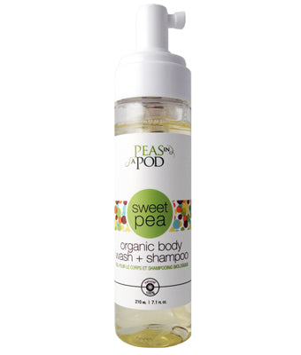 Peas in a Pod Sweet Pea Organic Body Wash + Shampoo