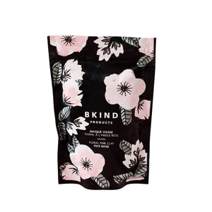 BKIND Floral Pink Clay Face Mask