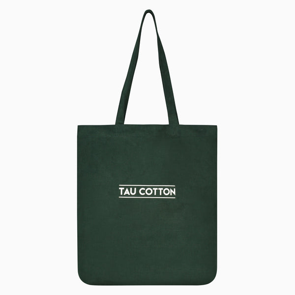 Tote Bags saved from waste fabrics | Dark Green