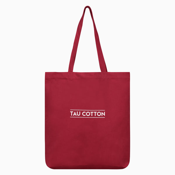 Tote Bags saved from waste fabrics | Chili Pepper Red