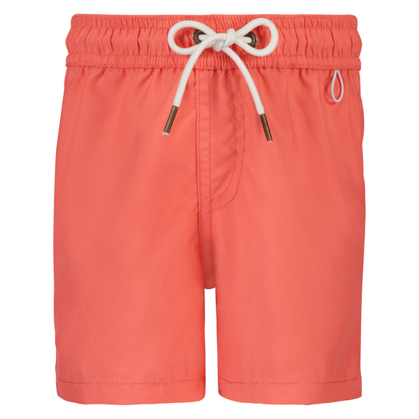 Boys Swim Trunks | Pink Coral