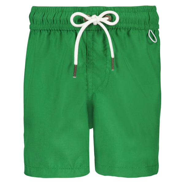 Boys Swim Trunks | Emerald Green