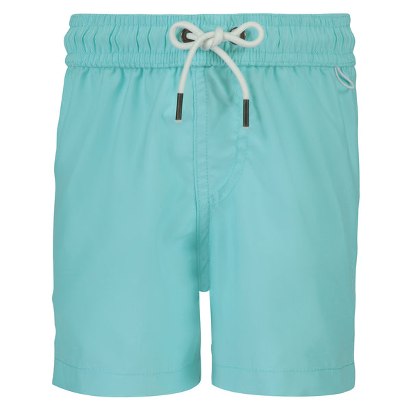 Boys Swim Trunks | Turquoise