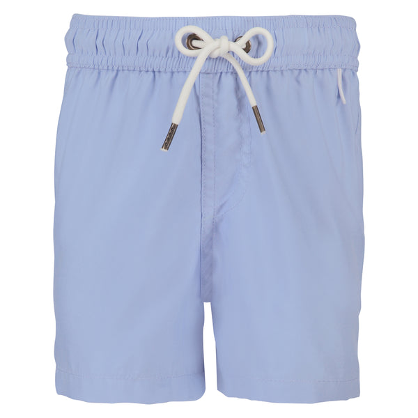 Boys Swim Trunks | Lavender Light Blue